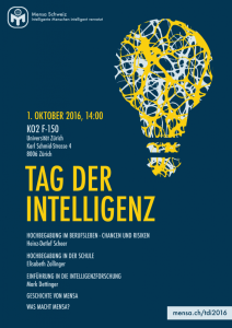 IntelligenceDayZurich Plakat